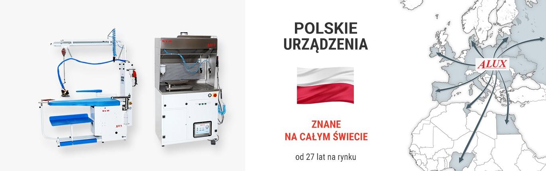 Alux - polski producent urządzeń prasowalniczych i specjalistycznych
